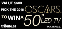 "Predict the Oscar Winners for Your Chance to Win A 50"" LED TV valued at $600"