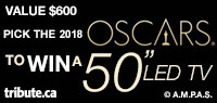 "2018 OSCARS 50"" LED TV contest"