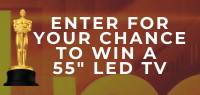 "Enter for your chance to win a 55"" LED TV!"